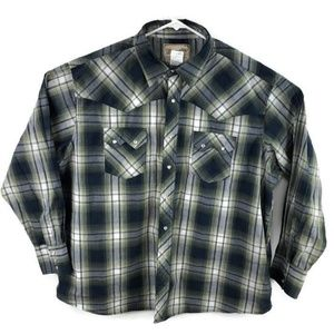 Wrangler Western Pearl Snap Shirt